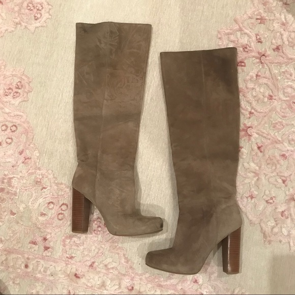 65c181f4e9d Nine West Shoes - Nine West over the knee boot with hidden platform